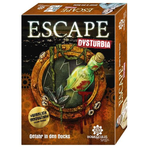 ESCAPE Dysturbia: Gefahr in den Docks