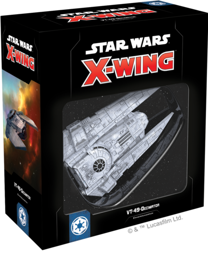Star Wars: X-Wing VT-49-Decimator